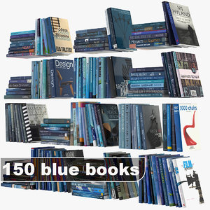 blue books set 3ds
