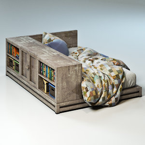 Bed for teenager
