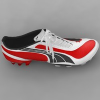 Puma V1.08 Soccer Boot 3D Model