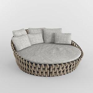 furniture garden 3d obj