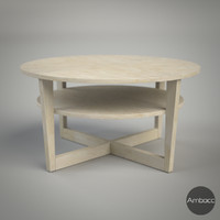 IKEA Inspired VEJMON Coffee Table, Birch Veneer - 90x47cm