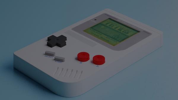 tetris 3d model