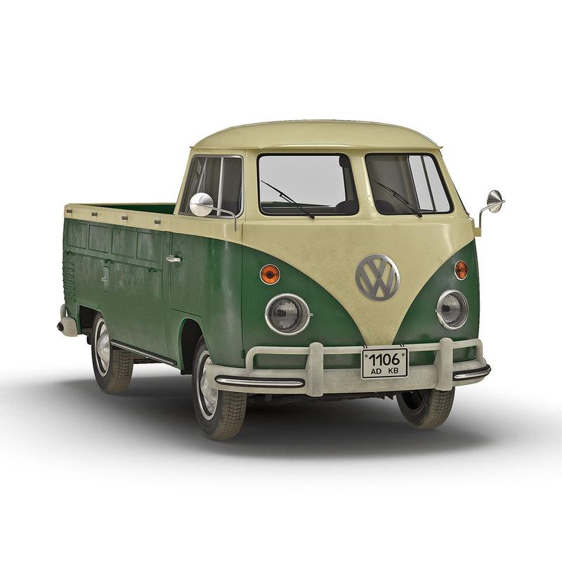 volkswagen type 2 single 3ds
