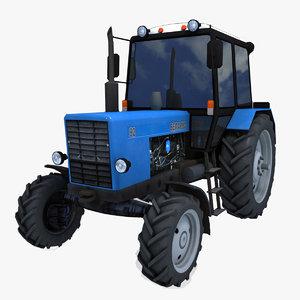 3d tractor mtz 82