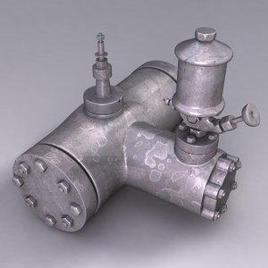 3d model industrial device