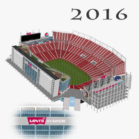 levi s stadium seats 3d 3ds