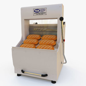 3d model bread slicer