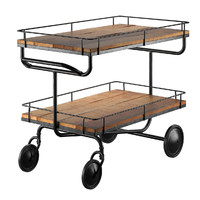 bar trolley 3d model