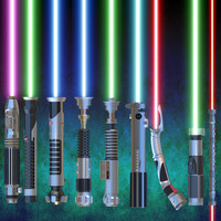 lightsaber light saber 3d model