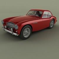 3d 1953 healey austin-healey 100s model
