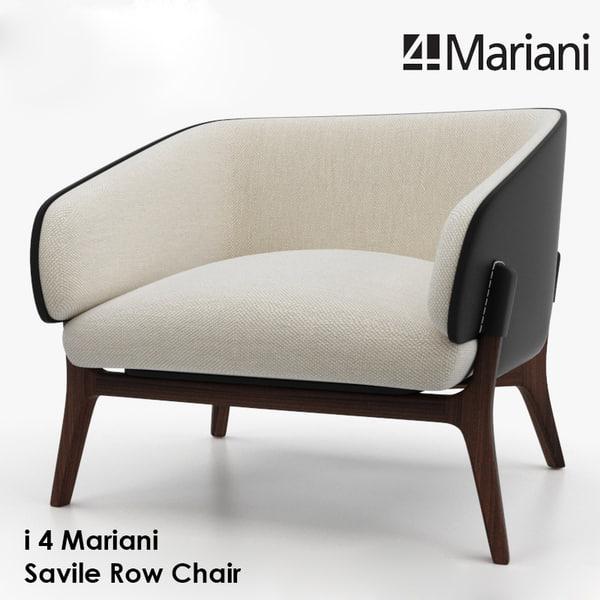 4 mariani savile 3d model