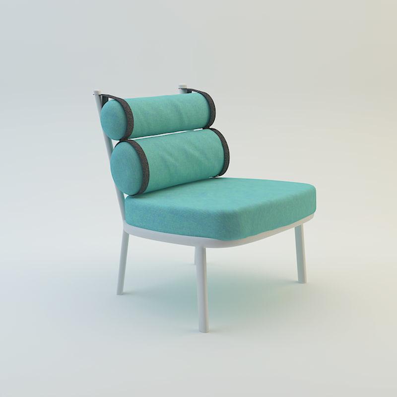 furniture garden 3d model