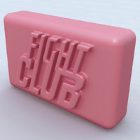 fight club soap 3d model