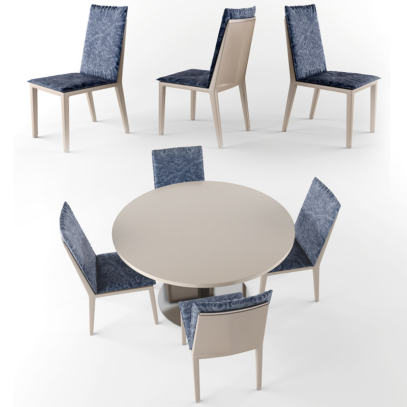 dining table set obj