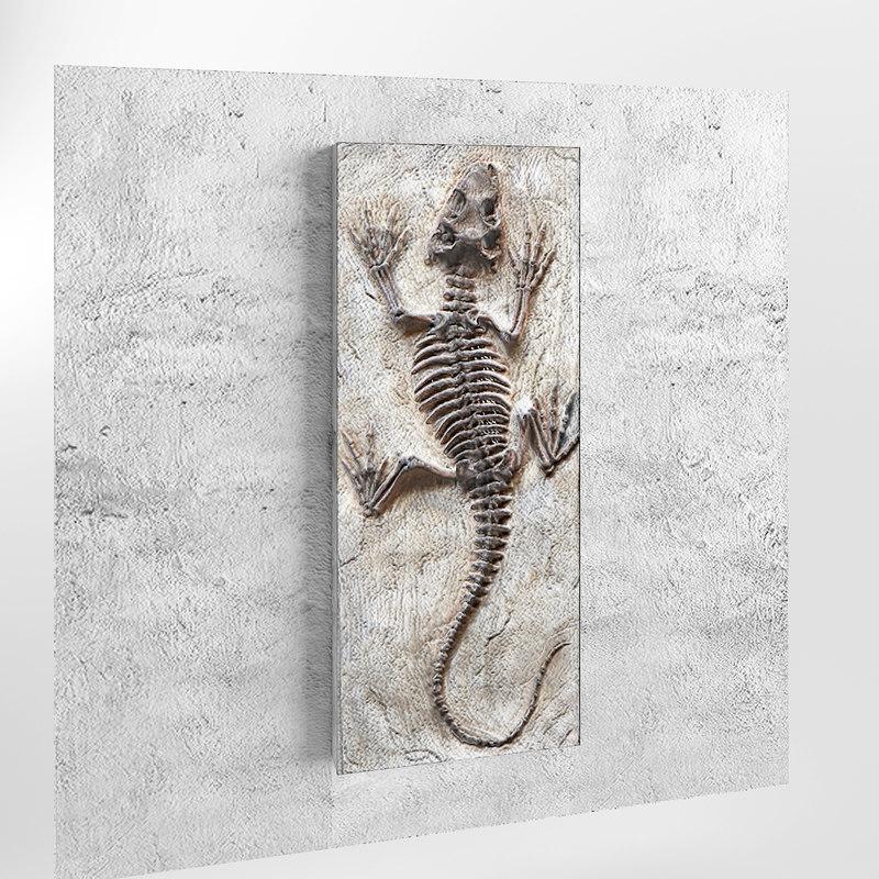 statuette lizard max