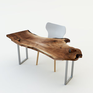 3d max dining table