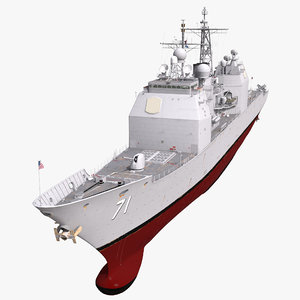 3d model uss cape st george