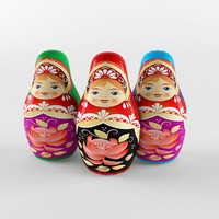Russian dolls toy