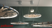 tape pendant lamp 800 3d model