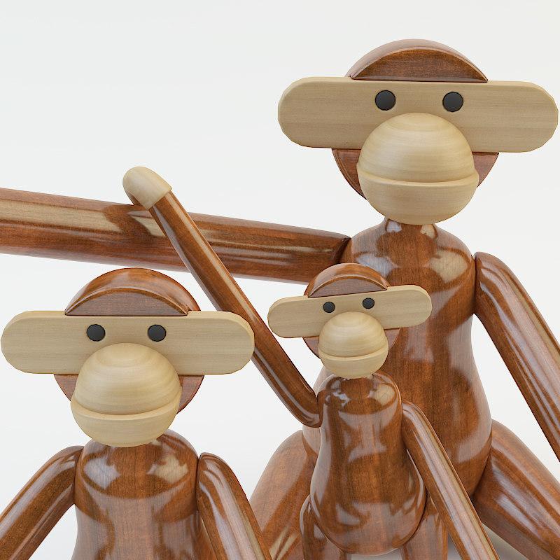 Kay Bojesen Monkey Toy