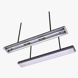 daylight lamps 3d model