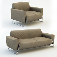 leather sofa pack 3d max