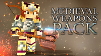 3d model of medieval weapons pack