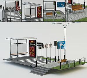 3d street elements
