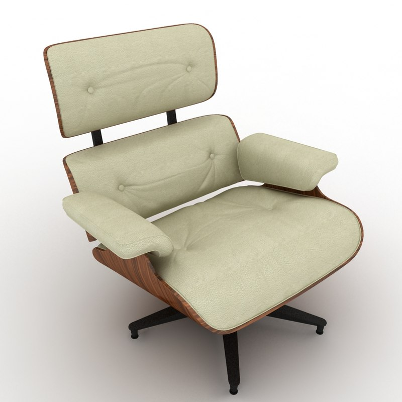 Chair Max Lounge 3d Eames 670 0Nv8nwOym