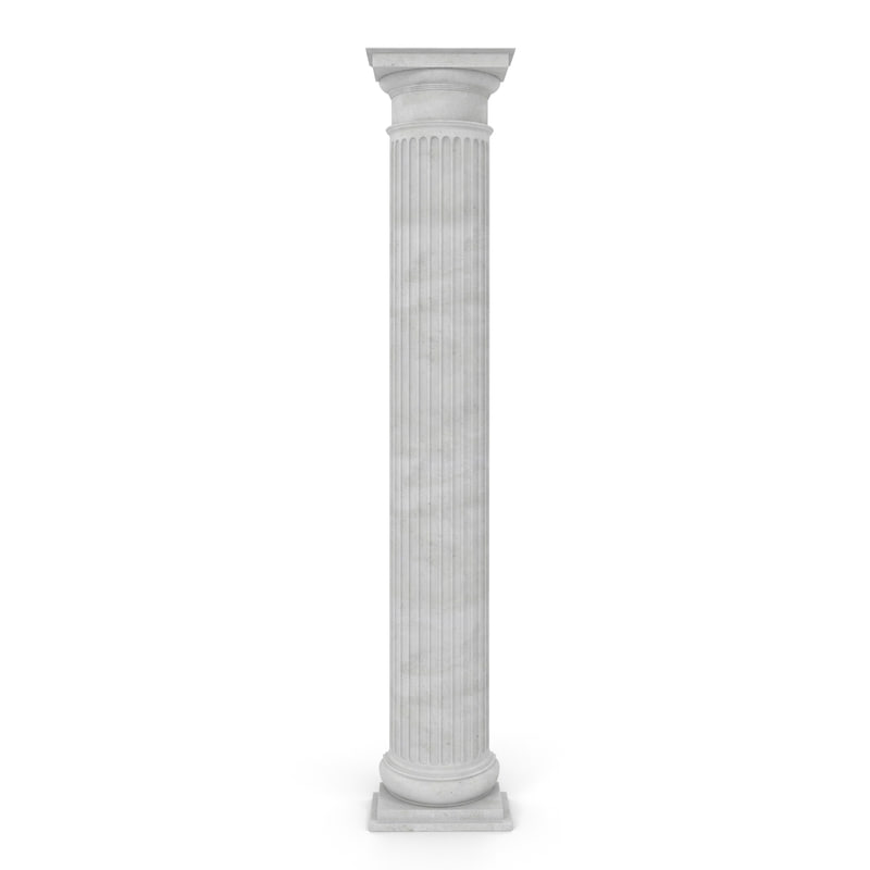 pilaster doric greco roman 3d model