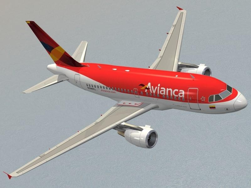 airbus a318 avianca max