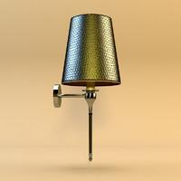 3d sconce lamp model