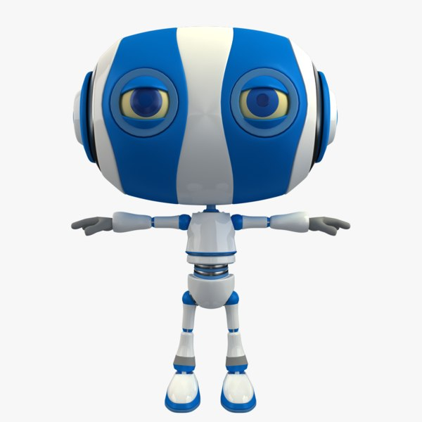 robot modelled dxf