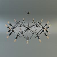 max chandelier moooi
