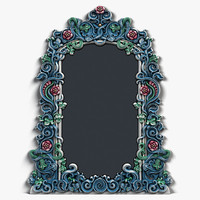 art 2 mirror frame 3d max