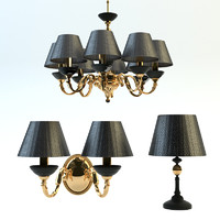 3d chandelier set kutek