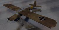 3d fieseler fi-156c-3 storch