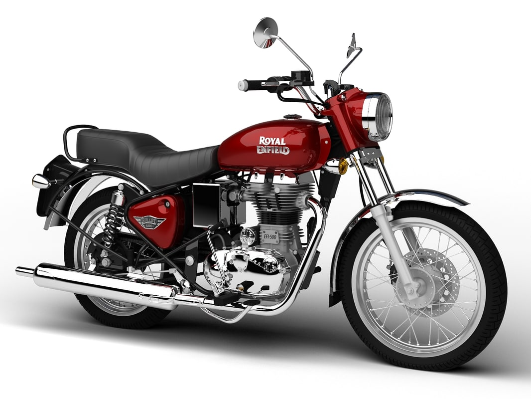 3d royal enfield bullet electra model