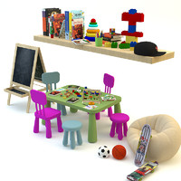 Decorative toy set for children