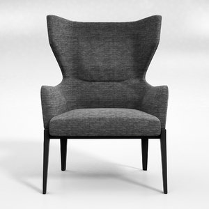 chelsea c armchair 3d max