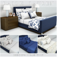 ralph lauren bedding 3d max