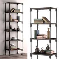 3d model narrow rack