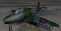 gloster g-40 pioneer jet fighter 3ds
