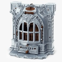 cast iron fireplace 3ds