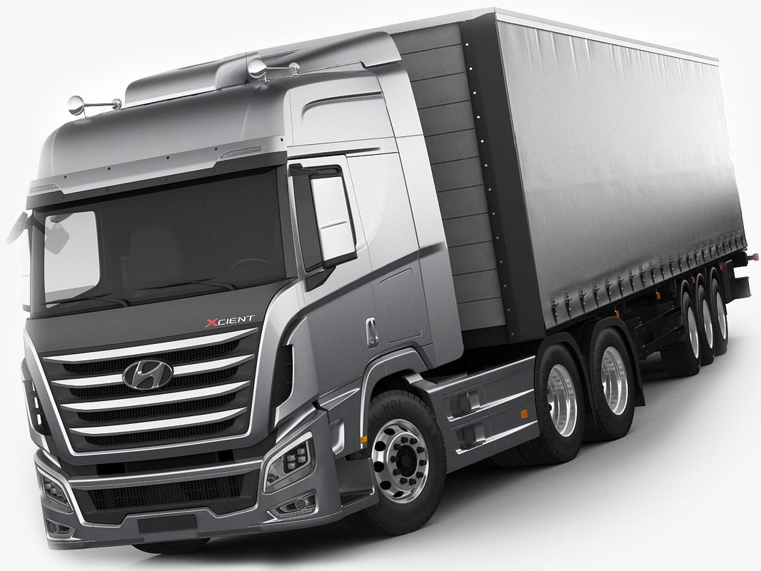 3d contains trailer model