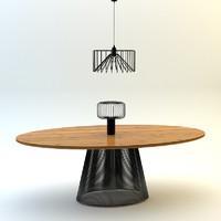 max table lamp loft set