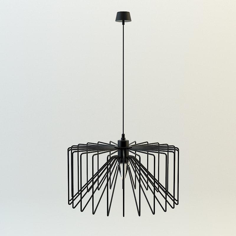 3d lamp loft spider