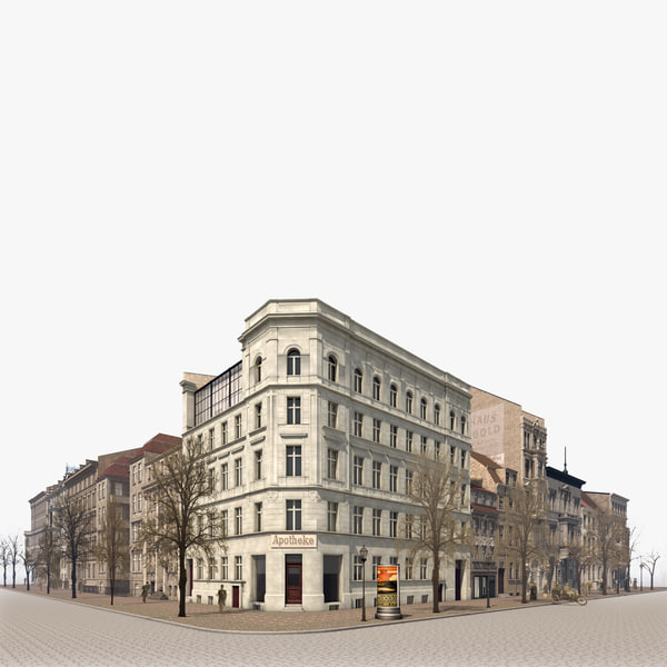 city berlin 3d 3ds
