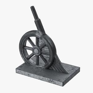 monopoly wheel - 3d max