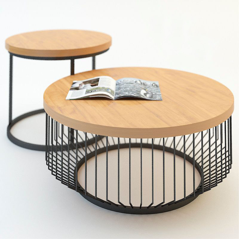 coffee table dome deco 3d max
